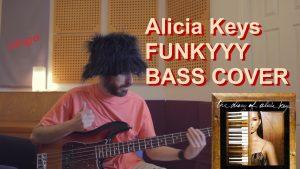 alicia keys heartburn bass cover