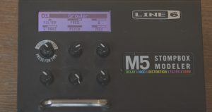 line 6 bass synth pedal