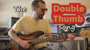 double thumb bass slap technique