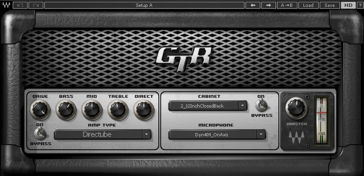 bass guitar synth sound waves gtr directube