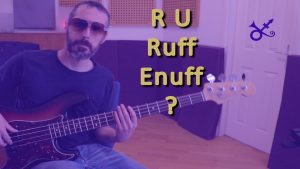 prince ruff enuff bass cover