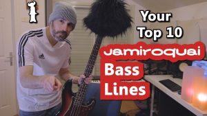 jamiroquai bass lines bass cover top 10